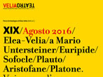 VeliaTeatro -  Events Ascea - Theatre Ascea