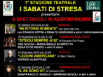 Theatre. Saturday in Stresa -  Events Stresa - Theatre Stresa