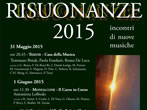 Risuonanze 2015 -  Events Monfalcone - Concerts Monfalcone