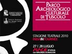 Summer season at Roman Theatre in Tusculum -  Events Frascati - Theatre Frascati