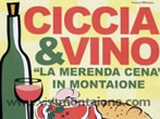 Ciccia e vino -  Events Montaione - Shows Montaione