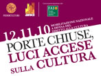 Closed doors, light on culture -  Events Vicenza - Shows Vicenza