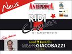 Ridi Chiavari: Giuseppe Giacobazzi -  Events Chiavari - Theatre Chiavari