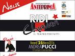 Ridi Chiavari: Andrea Pucci -  Events Chiavari - Theatre Chiavari