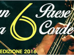 A town for six strings -  Events Pettenasco - Concerts Pettenasco