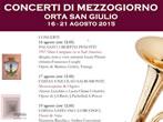 Noon concert -  Events Orta San Giulio - Concerts Orta San Giulio