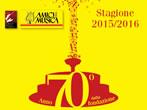 Amici della Musica: 2015-16 season image - Perugia - Events Concerts