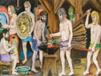 Bruno Caruso: Homeric mythology -  Events Palermo - Art exhibitions Palermo