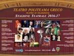 Teatro Politeama Greco: theatre season image - Salento - Events Theatre