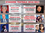 Tommasiello Theatre 2016-17 -  Events Teano - Theatre Teano