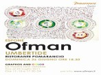 Ofman - Graphos and Color -  Events Umbertide - Art exhibitions Umbertide