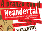 Lunch with the Neanderthal -  Events Velletri - Art exhibitions Velletri