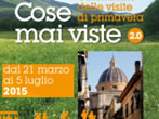 Cose mai viste: guided tours -  Events Castel Gandolfo - Shows Castel Gandolfo