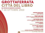 Grottaferrata town of books -  Events Grottaferrata - Shows Grottaferrata
