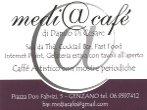 Medi@café Summer Live 2011 -  Events Genzano di Roma - Concerts Genzano di Roma