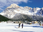 Cross-country skiing centre -  Events San Martino di Castrozza - Attractions San Martino di Castrozza