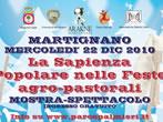 La sapienza popolare nelle feste agro-pastorali -  Events Martignano - Shows Martignano