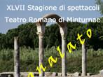 Roman Theatre: season 2010 -  Events Minturno - Shows Minturno