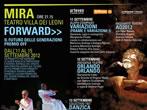Forward - Il futuro delle generazioni - Premio Off -  Events Mira - Theatre Mira