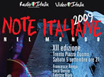 Italian notes from the world -  Events Trento - Concerts Trento