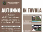 Autunno in tavola -  Events Gardone Riviera - Shows Gardone Riviera