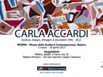 Carla Accardi. Sculptors, drawings, pictures and documents 1946-2012 -  Events Matera - Art exhibitions Matera