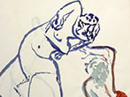 100 drawings by Antonietta Raphael -  Events Matera - Art exhibitions Matera