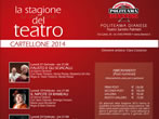 Theatre season -  Events Diano Marina - Theatre Diano Marina
