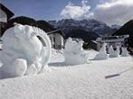 Snow sculptures contest -  Events Selva Gardena - Art exhibitions Selva Gardena