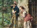 Woman in the 19th-century Italian painting -  Events Milan - Art exhibitions Milan