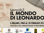 Leonardo3 - Leonardo's world -  Events Milan - Art exhibitions Milan