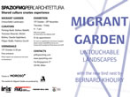 Migrant garden -  Events Milan - Art exhibitions Milan