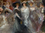 Pompeo Mariani. Italian Impressionist painter -  Events Milan - Art exhibitions Milan