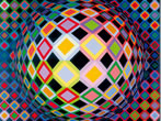 Victor Varsely: not the heart but the retina -  Events Milan - Art exhibitions Milan