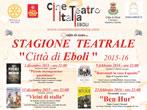 Theatre season -  Events Eboli - Theatre Eboli
