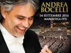 Andrea Bocelli -  Events Marostica - Concerts Marostica