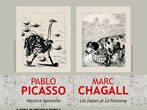 Pablo Picasso and Marc Chagall -  Events Pescara - Art exhibitions Pescara