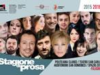 Teatro Stabile dell'Umbria: 2015-16 season -  Events Foligno - Theatre Foligno