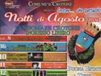 August nights in Crotone -  Events Crotone - Shows Crotone