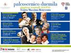 Palcoscenico Duemila: season 2014-15 -  Events Benevento - Theatre Benevento