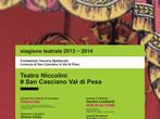 Theatre season -  Events San Casciano in Val di Pesa - Theatre San Casciano in Val di Pesa