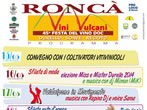 Vini e vulcani -  Events Ronca' - Shows Ronca'