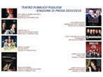 Theatre season -  Events Fasano - Theatre Fasano