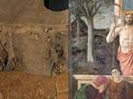 RiVisitazioni 1 Burri incontro Piero Della Francesca -  Events Sansepolcro - Art exhibitions Sansepolcro