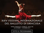 International ballet festival -  Events Avola - Theatre Avola