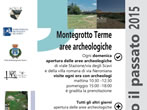 Opening of the archeological area in Via degli Scavi and Via Neroniana -  Events Montegrotto Terme - Shows Montegrotto Terme